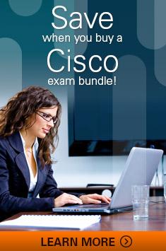 Save when you buy a Cisco exam bundle?