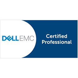 Dell EMC Certification logo