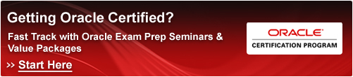 Oracle Certification Program - Start Here